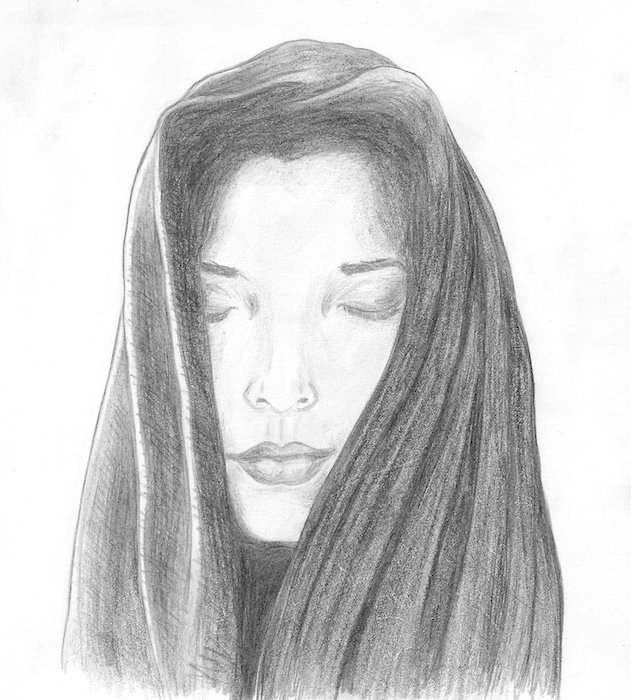 Ana Madic Art - Drawings - Portrait 011